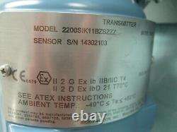 1 300# Micro Motion F100 S129CJAZSZZZZ Sensor 2200 Transmitter NEW E4 (2590)