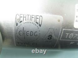 1 Micro Motion T075 Mass Flow Sensor 1700 I11 AB Transmitter NEW E9 (2433)