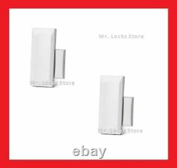 (10-Pack) Genuine 2GIG-DW10-345 Wireless Thin Door/Window Sensors with Magnets