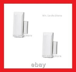 (2-Pack) GENUINE 2GIG-DW10-345 Wireless Thin Door/Window Sensors with Magnets