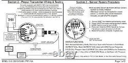 Anderson Instruments Hydrostatic Level Transmitter SE110881100 @ 51 WC