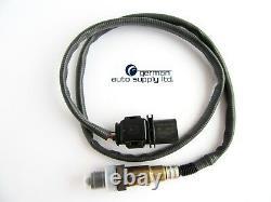 BMW Oxygen Sensor Bosch 0258007215, 17215 NEW OEM O2 with Connector