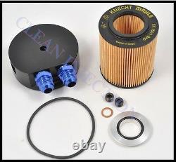 Black E36 BMW Oil Cooler Cap 325i 525i M3 M5 3.0L 3.2L 328i turbo Filter feed