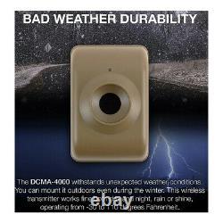 Dakota DCMA-4000 Wireless Motion Detector Driveway Alarm System DCMT4000 DCR4000