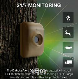 Dakota DCMA-4000 Wireless Motion Detector Driveway Alarm System with 2 Sensors