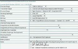 Emerson Rosemount Hart 3051 Differential Pressure Transmitter Model 3051CD New