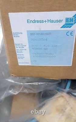 Endress Deltapilot S DB53-AM70BD11GG30 Drucksensor pressure transmitter 80121.3