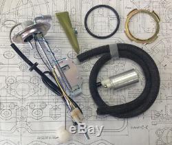 Fuel level sensor gas tank sending unit sender kit complete Volvo 240 244 245