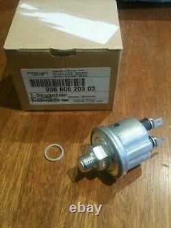 GENUINE PORSCHE 996 997 986 Carrera Oil Pressure Sender sensor unit brand new