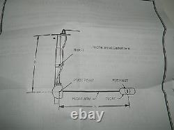 Lot of 8 Universal 3262 Fuel Level Sender Sensor Swing-Arm Adjustable 240-33 Ohm