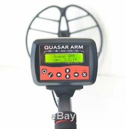Metal detector QUASAR ARM Gainta, with FM transmitter, up to 2m Waterproof coil