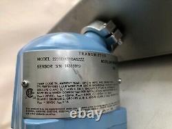 Micro Motion CORIOLIS F100S129CJAASZZZZ Sensor 2200 Transmitter NEW 1 300#