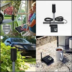 Mighty Mule Wireless Driveway Alarm Security Alert Sensor Chime Indoor Receiver