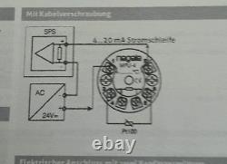 NEGELE TFP-49 /050 ATEX Temperatursensor Transmitter 4-20mA 0-150 °C 150328-12