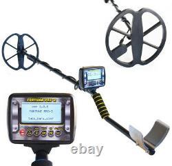 NEW! Metal detector Fortune 7x4 LCD display, FM transmitter, waterproof coil