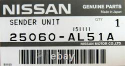 NISSAN Genuine SENDER UNIT FUEL GAUGE 25060-AL51A CV36 V36 Y50C V35 Y50 Z33 V36