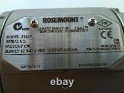 New Rosemount 3144p Temperature Transmitter