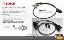 PORSCHE 964 993 Reference Sensor Engine Crank Pulse Sender Harness Plug 91160621