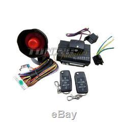 Premium Alarmanlage Alarm Funkfernbedienung 2x Klappschlüssel viele Fahrzeuge