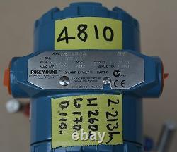 ROSEMOUNT 2088G3S22A2B4I7S5 Pressure Transmitter 0-2000 kPa MWP 800PSI/55.2 BAR