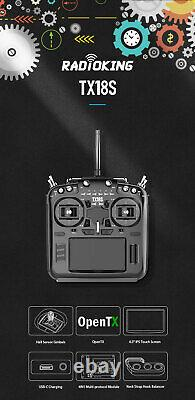 RadioKing TX18S/ TX18S Lite Hall Sensor Gimbal Multi-protocol OpenTX Transmitter