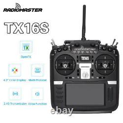 RadioMaster TX16S 2.4G 16CH Hall Sensor Gimbals RF System OpenTX Transmitter