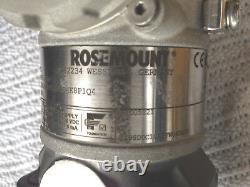 Rosemount 3051 Diff Pressure Transmitter 3051CD2A (-0 to 620 mbar) and Flanges