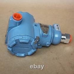 Rosemount 3051 Smart Pressure Transmitter 3051TG4A2B21AB4E7 4000 PSI NEW