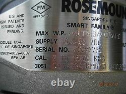 Rosemount 3051ca4 Transmitter New In Box Stainless 3051ca4a23a1km6k7l6p1c3q4q8