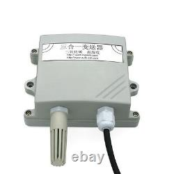 (US) 3in1 Sensor Temperature Humidity CO2 Transmitter RS485 Output 5000ppm