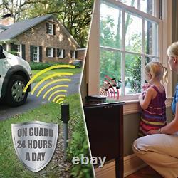 Wireless Driveway Alarm. Vehicle Car Auto Detector Sensor Outdoor